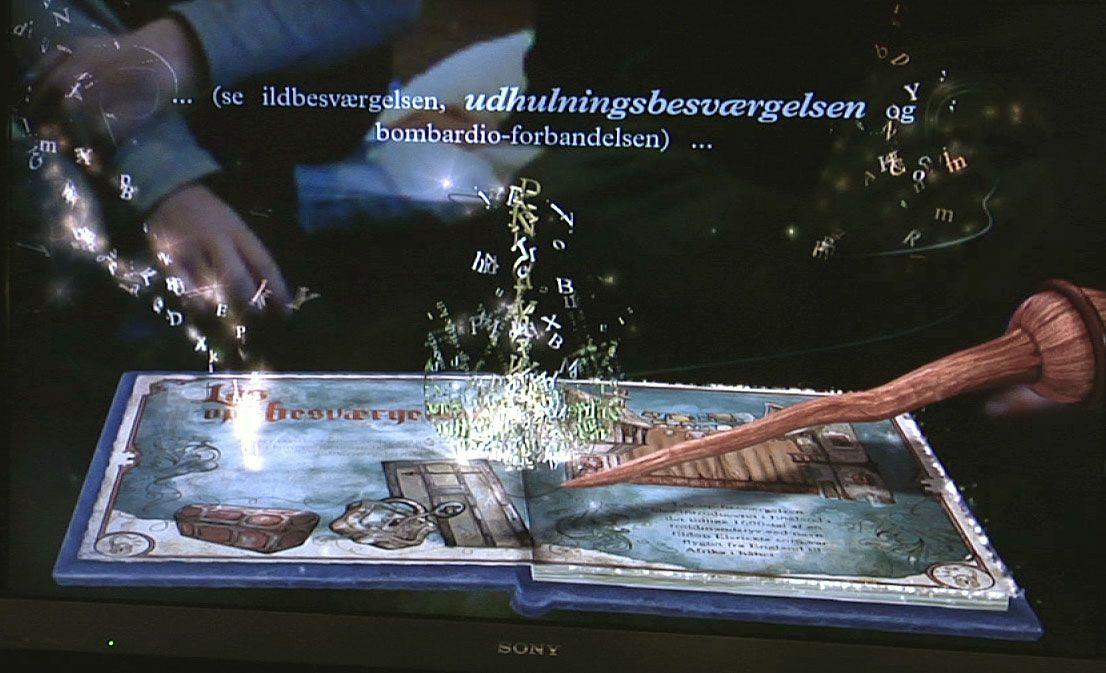 MAGISK? ...og slik ser boka ut på skjermen.Foto: Rolf Magnus W. Sæther