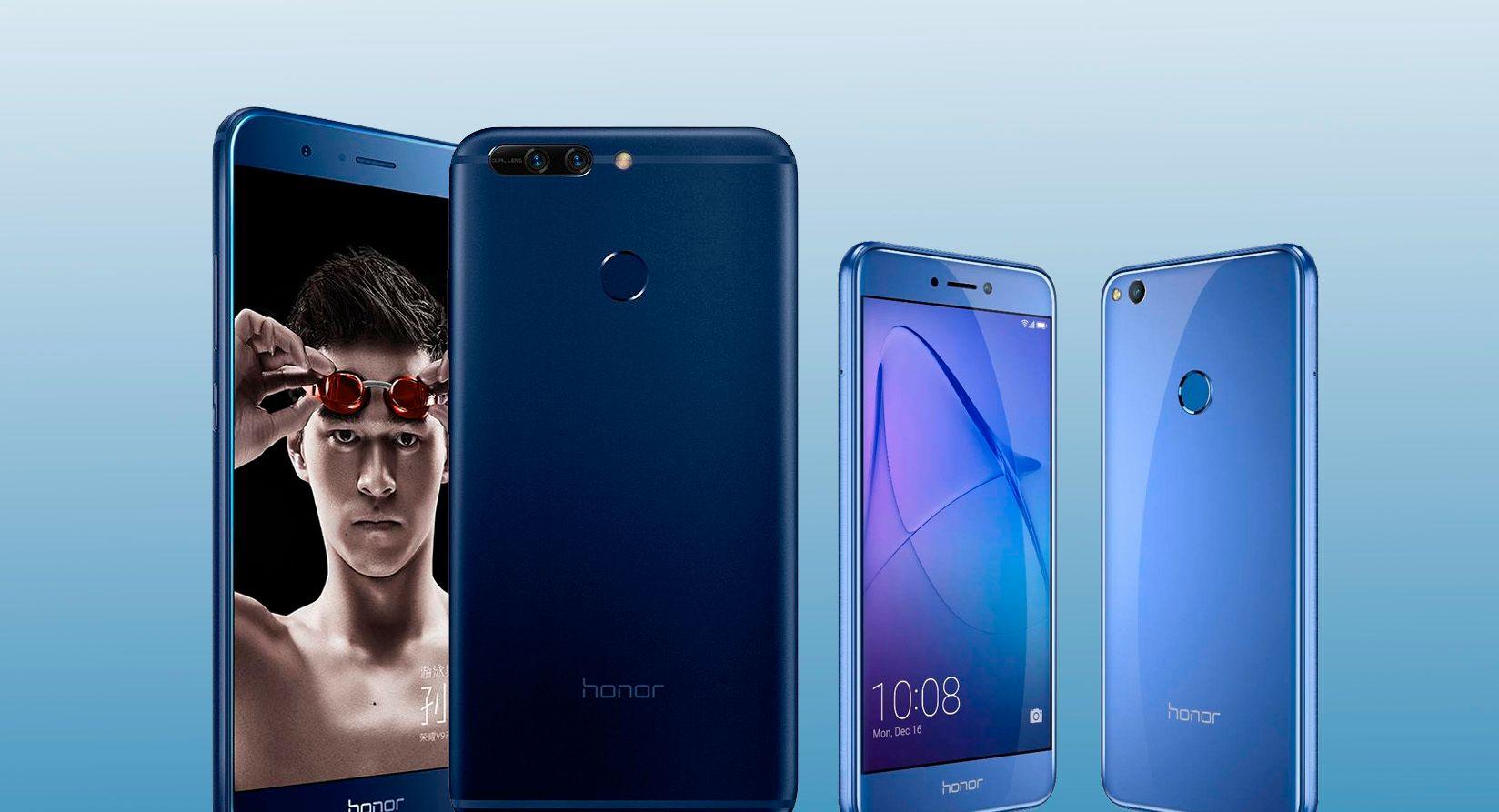 Huawei har lansert to nye Honor-modeller