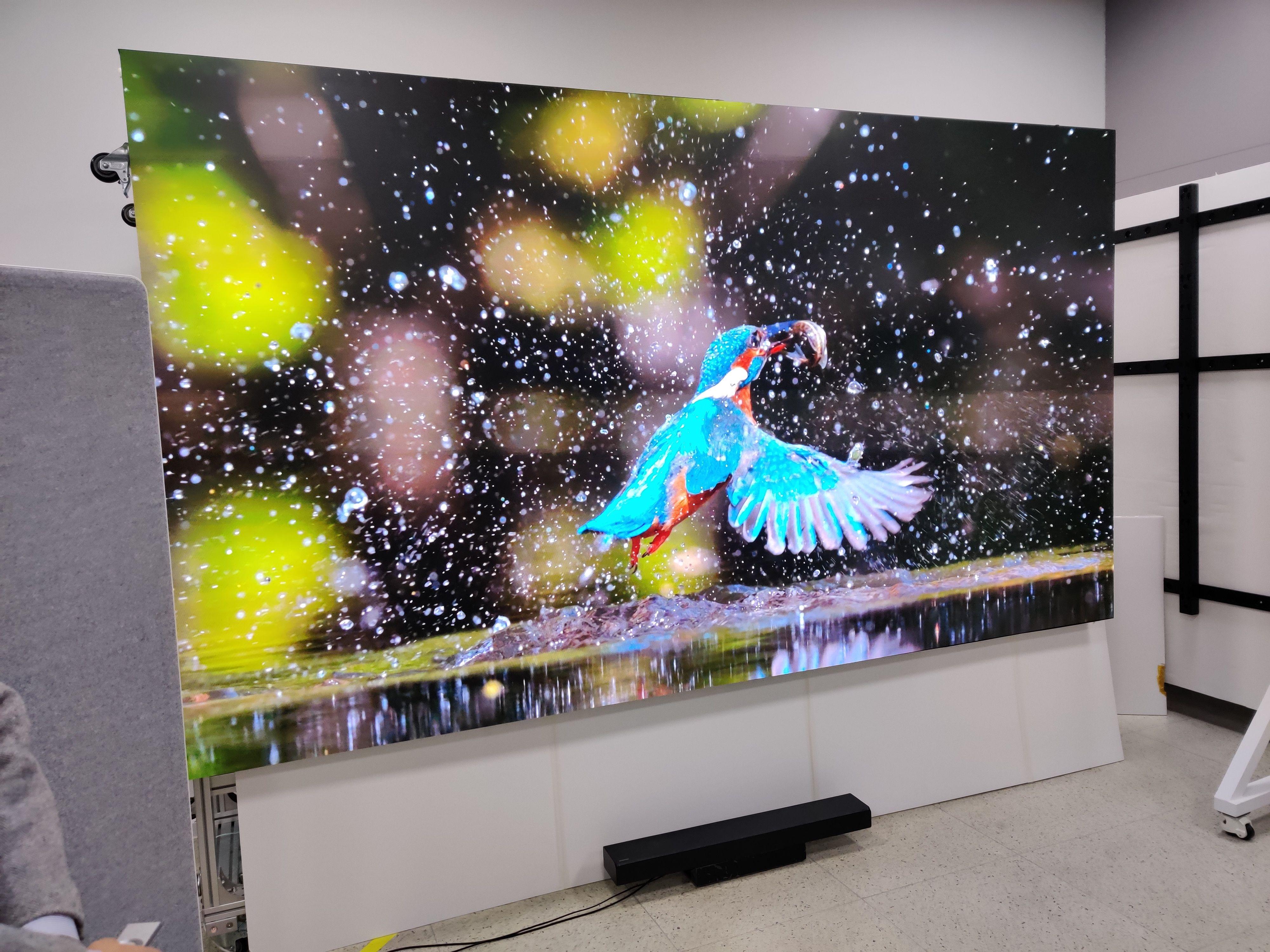 Micro-LED gir uten tvil det råeste bildet vi har sett.