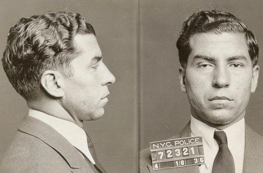 Charles «Lucky» Luciano ble arrestert 18. april 1936 i New York. Dette bildet er blant 870.000 som nylig er frigitt fra New Yorks kommunale bildearkiv. Foto: AP Photo/New York City Municipal Archives, NYPD Evidence Collection