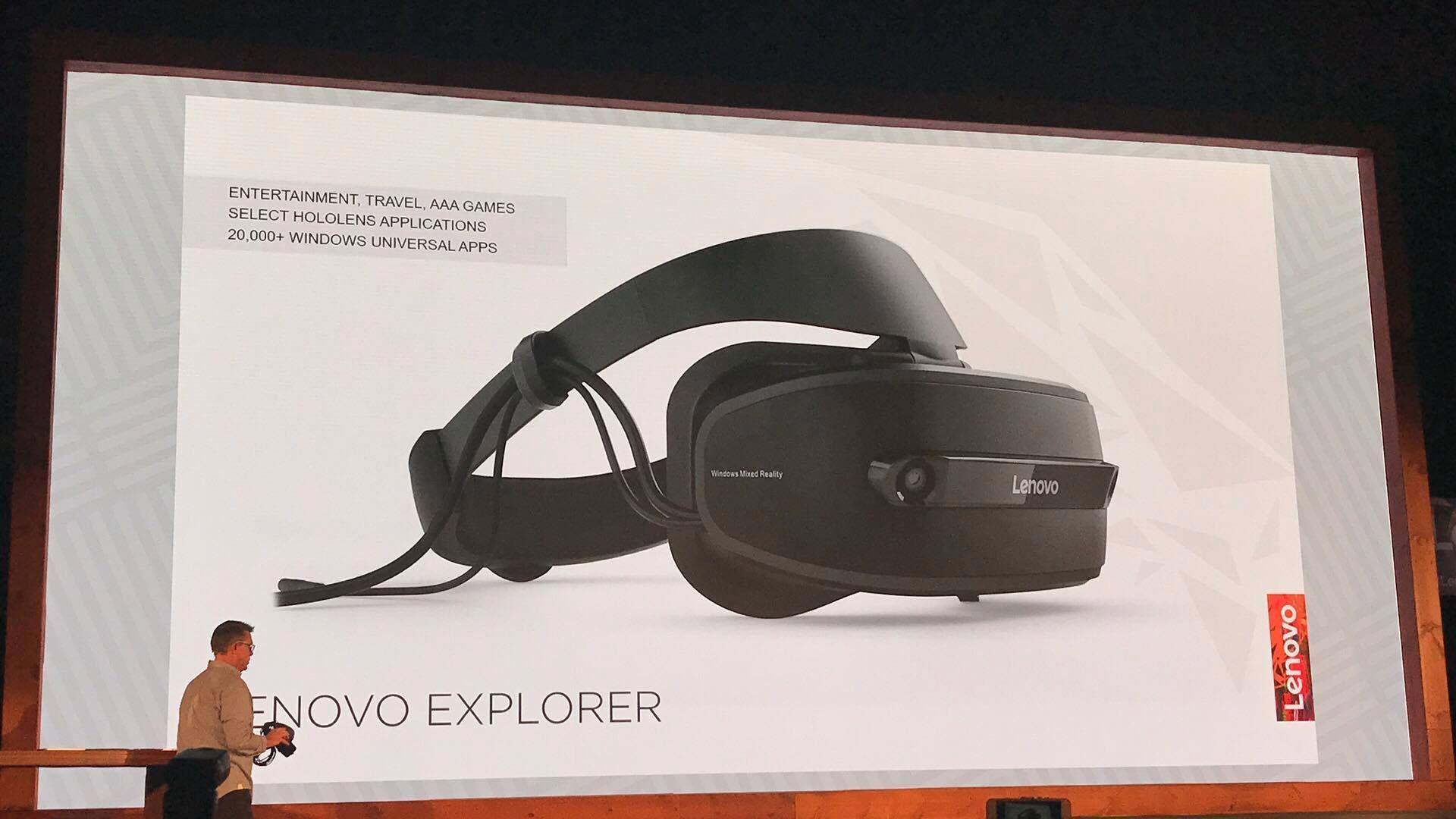 Lenovo Explorer er laget sammen med Microsoft.