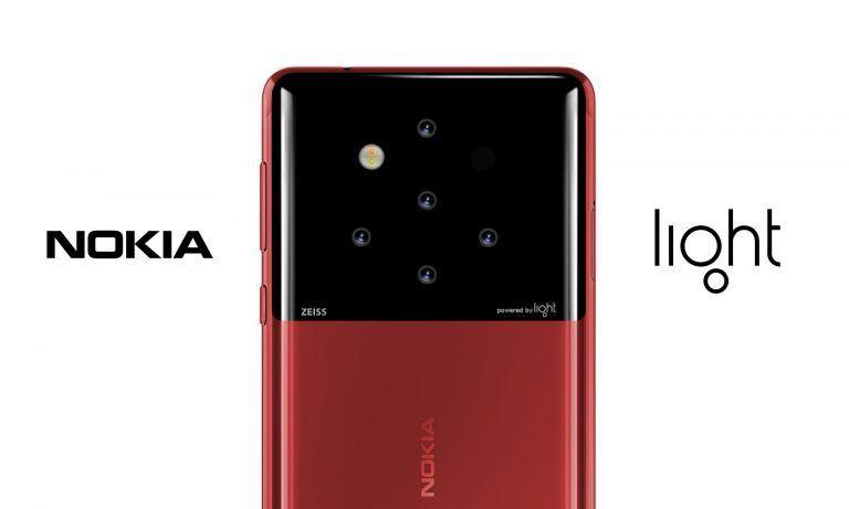 Light + Nokia (HMD) = ? Det er stadig uvisst om Light har noe med den nye telefonen å gjøre - dette er kun et tidlig konseptbilde basert på rykter fra tidligere i sommer.