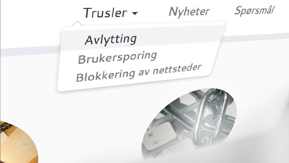 Denne norske nettsiden skal gjøre deg trygg for snoking og overvåking på Internett
