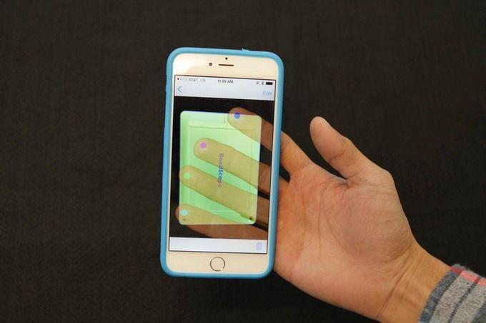 Produktet kommer også til mobiler, nærmere bestemt iPhone. Foto: Kickstarter