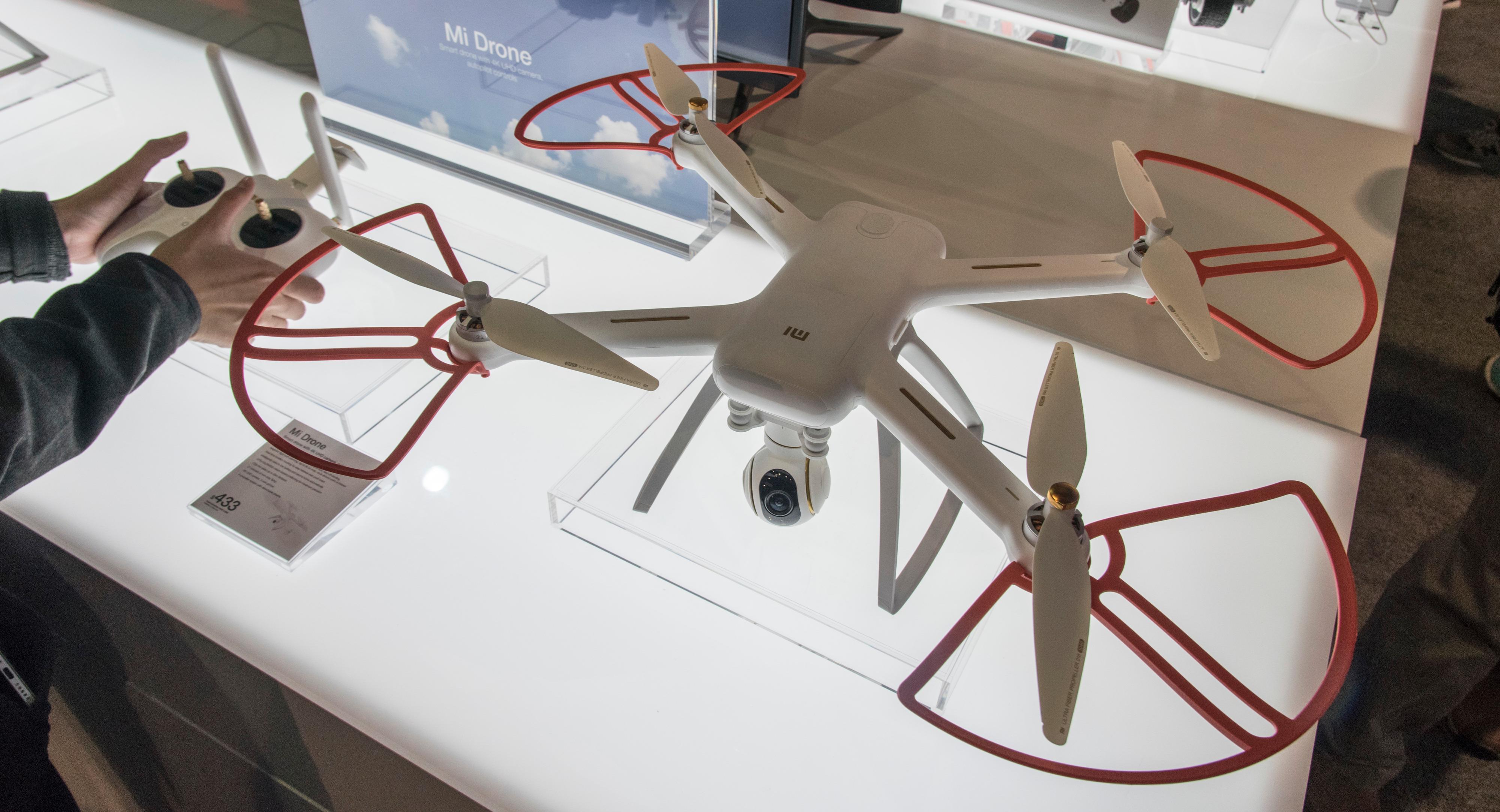 En avansert drone med to kilometers rekkevidde er på sett og vis noe av det mer ordinære Xiaomi lager. Bilde: Finn Jarle Kvalheim, Tek.no