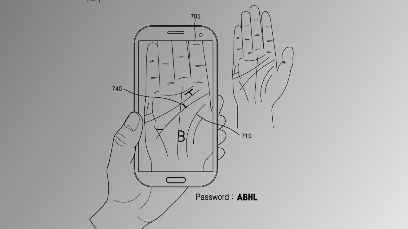 Fingeravtrykk er ikke nok – nå vil Samsung at mobilen skal skanne hele håndflaten