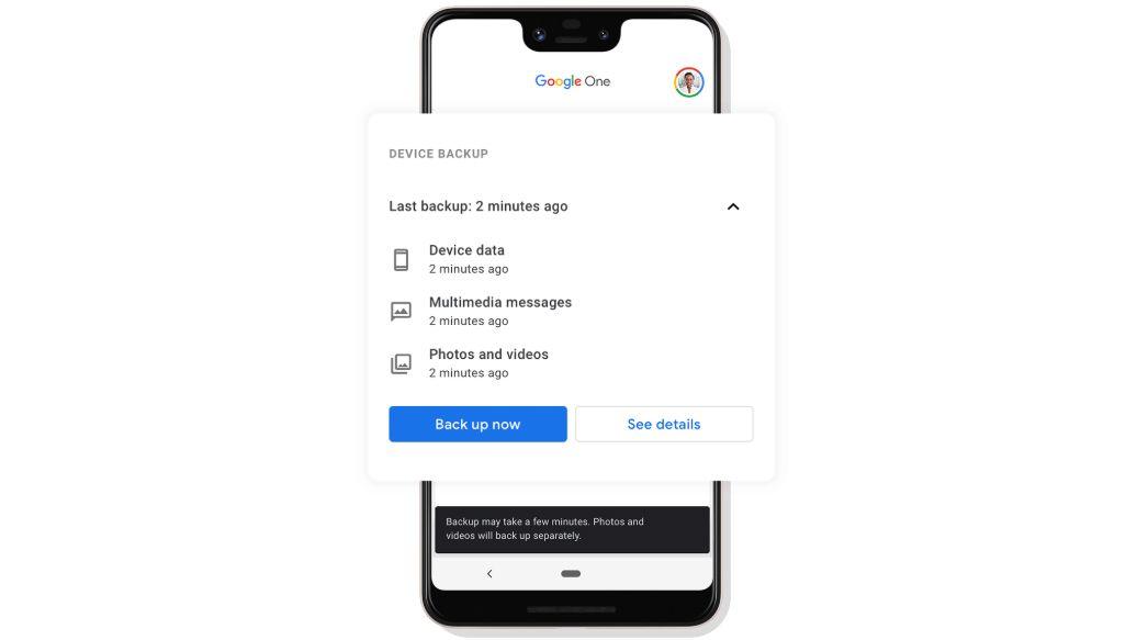 Google One-appen får fremover mulighet for å ta sikkerhetskopi av innhold på telefonen din, enten de er One-medlemmer eller ei. Muligheten kommer også til iOS-brukere.