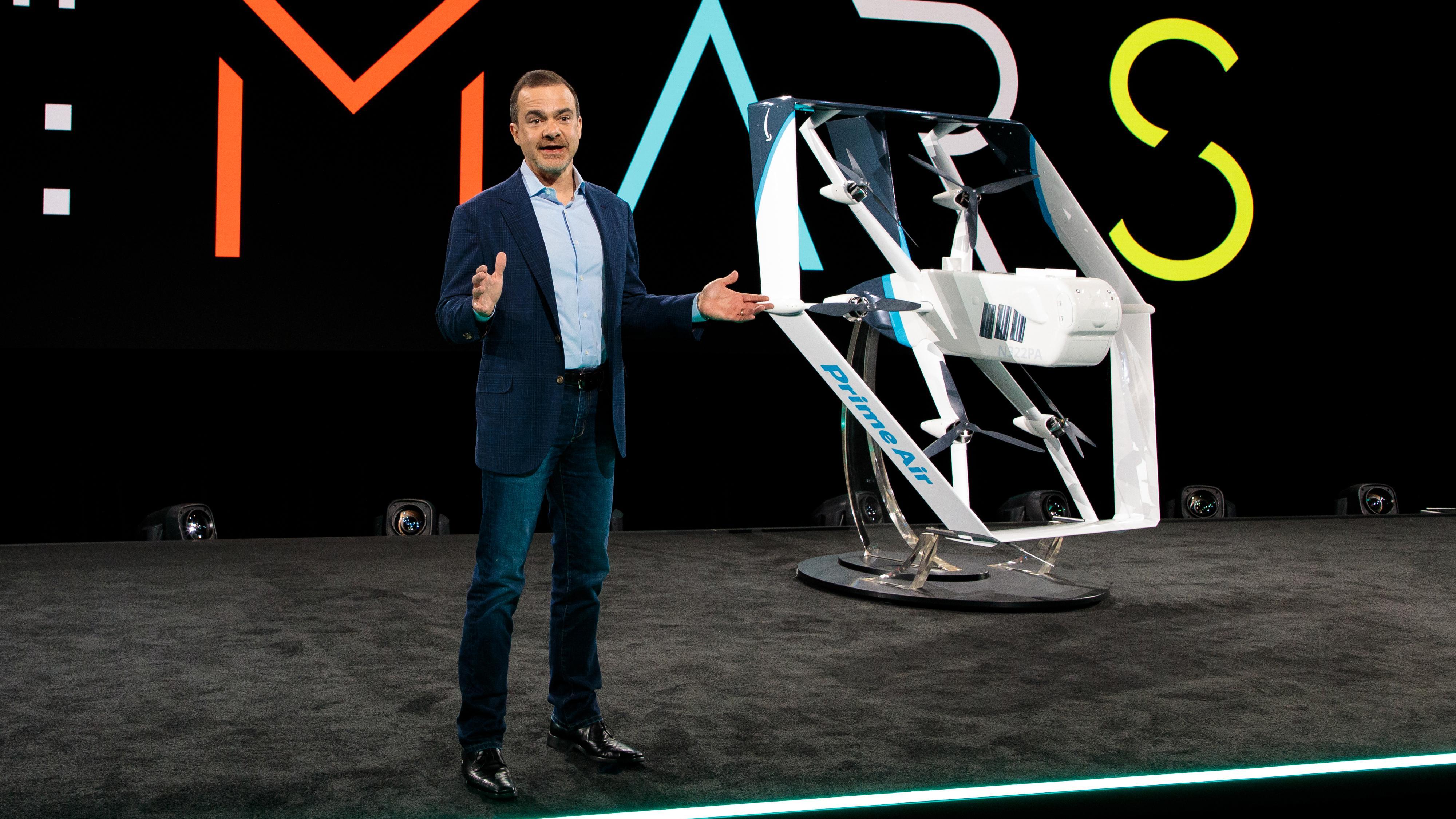 Kun «måneder unna» dronelevering, mener Amazon