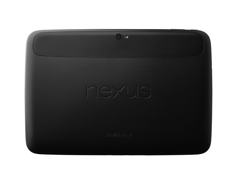 Slik ser baksiden av Nexus 10 ut.