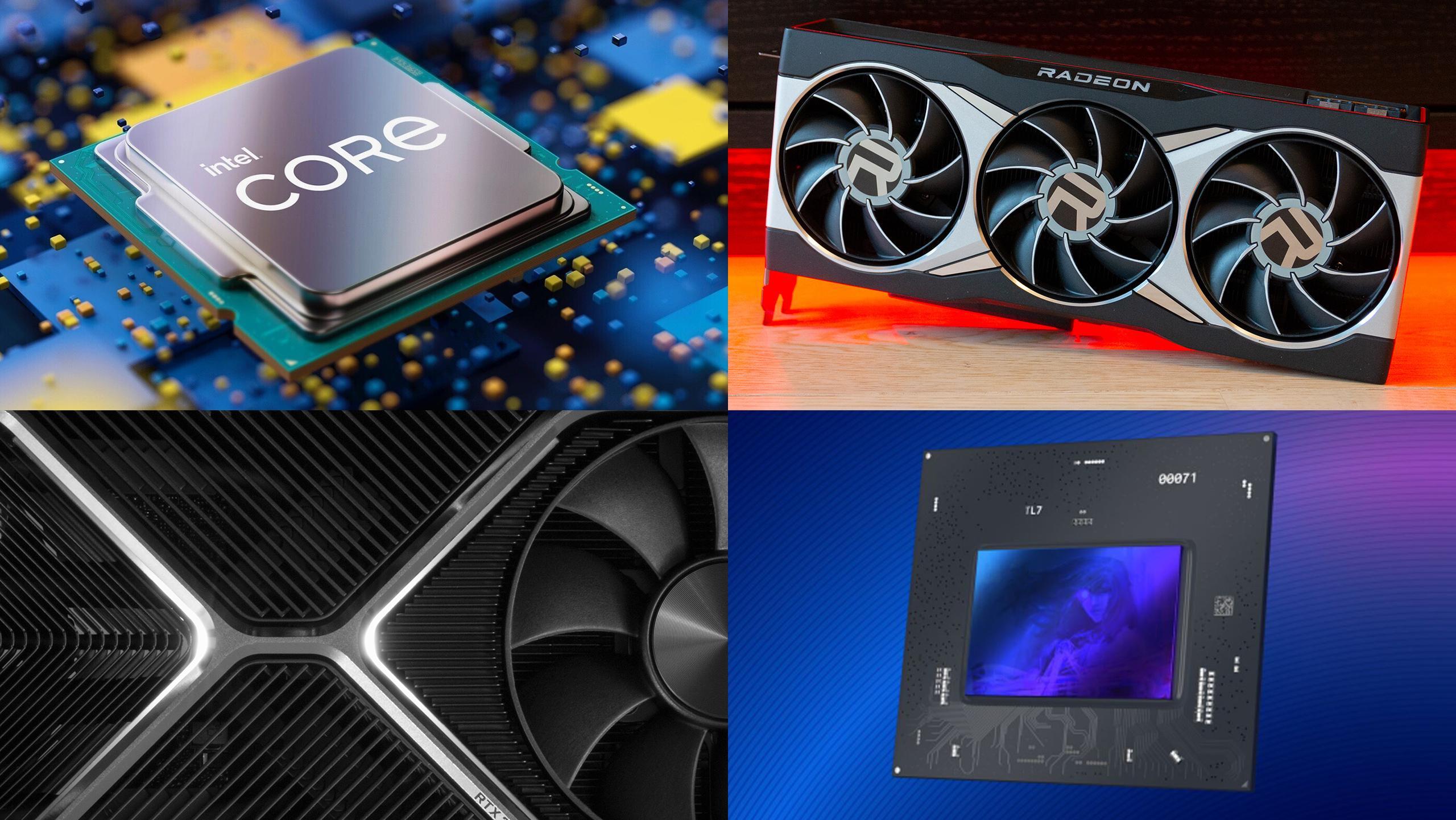 Både nye prosessorer og grafikkort lanseres de neste månedene, med høyere ytelse og nye teknologier.