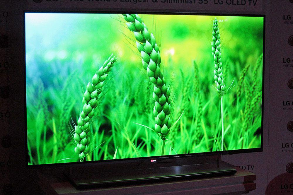 Vi tok en titt på TV-en i fjor og var ganske så fornøyde.Foto: Hardware.no