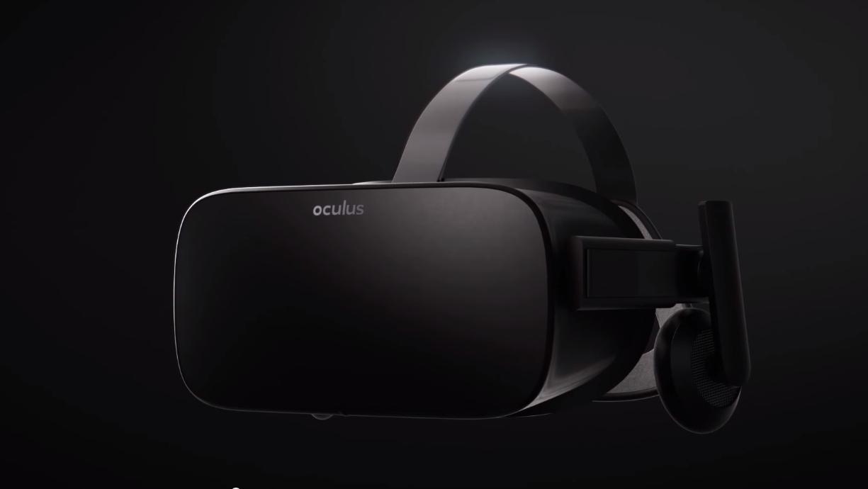 Forbrukerversjonen av Oculus Rift. YouTube/Oculus VR