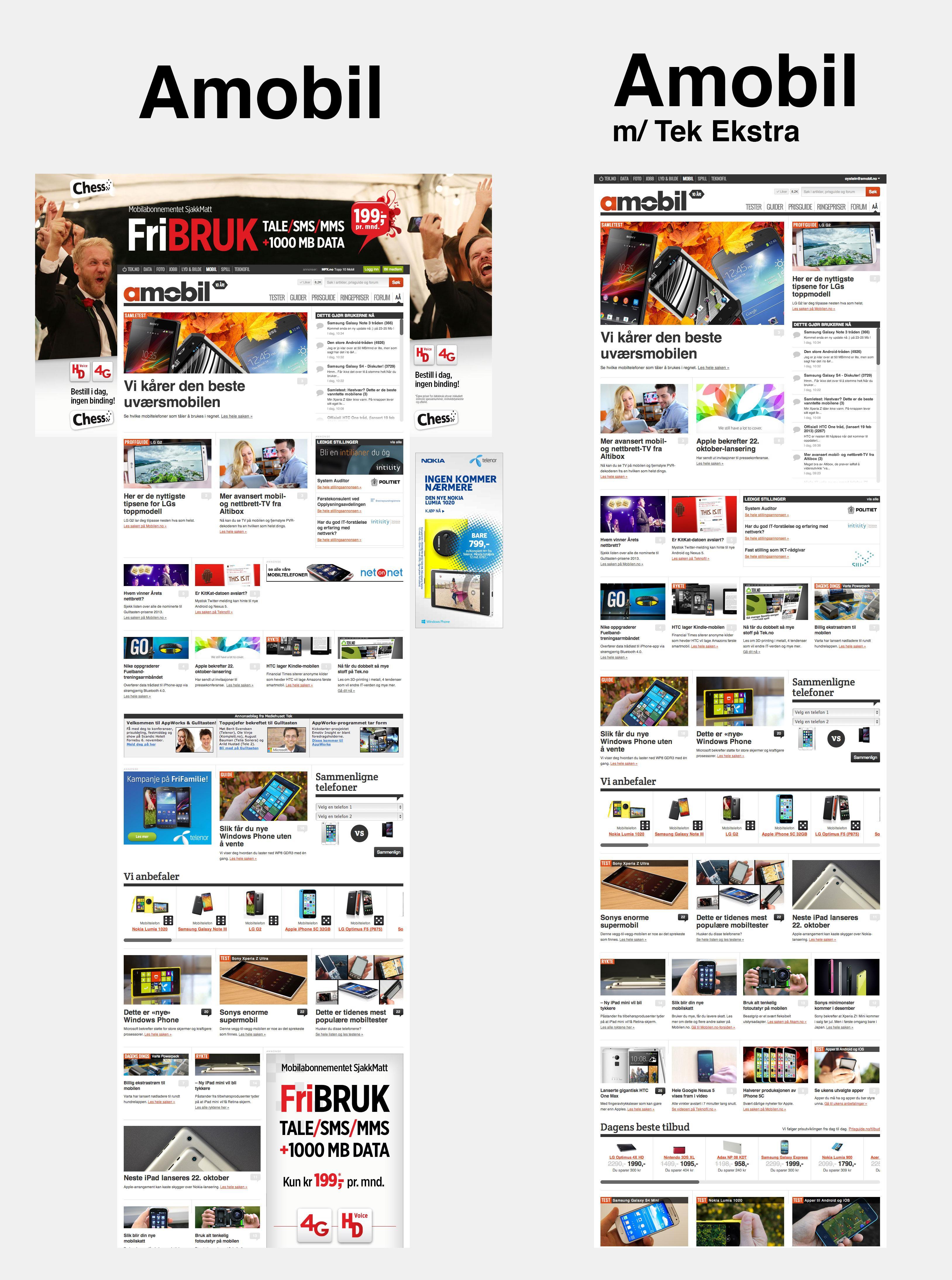 Som Ekstra-medlem får du forsider med mer luft, større bilder og smartere layout.