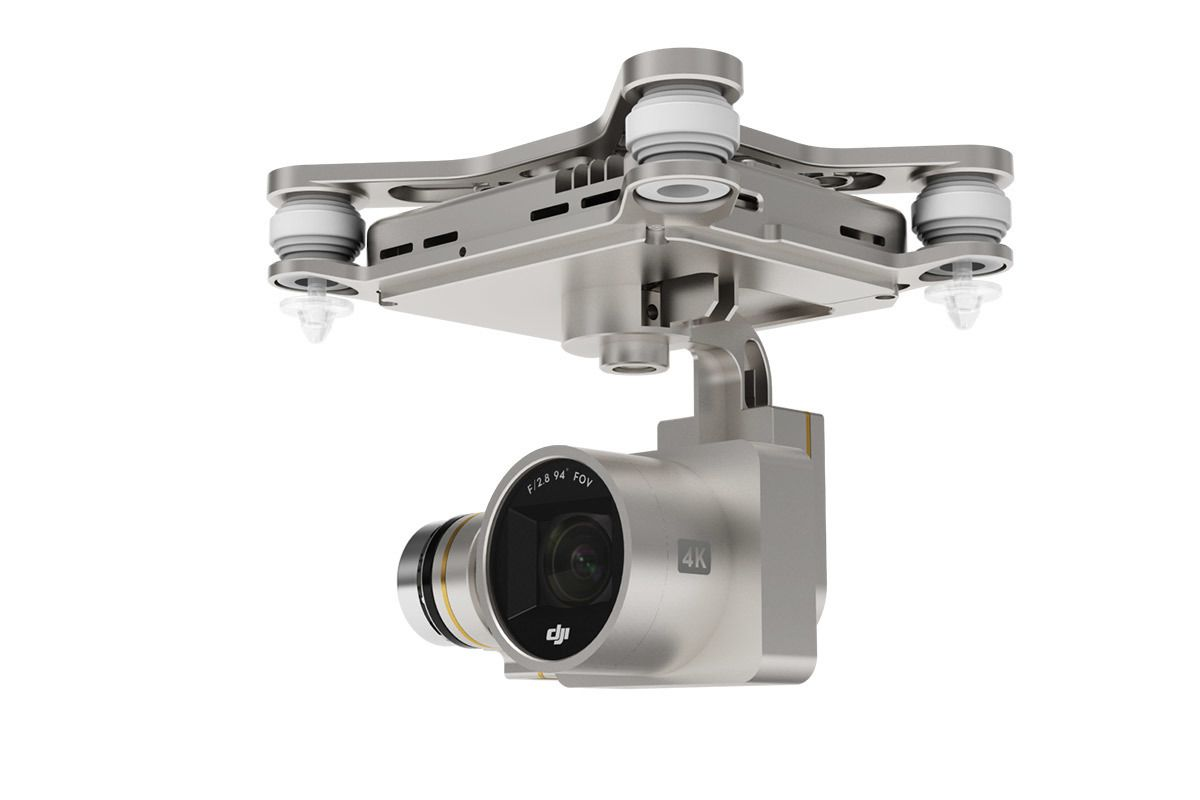 Slik ser 4K-kameraet på Phantom 3 Professional-utgaven ut. Foto: DJI