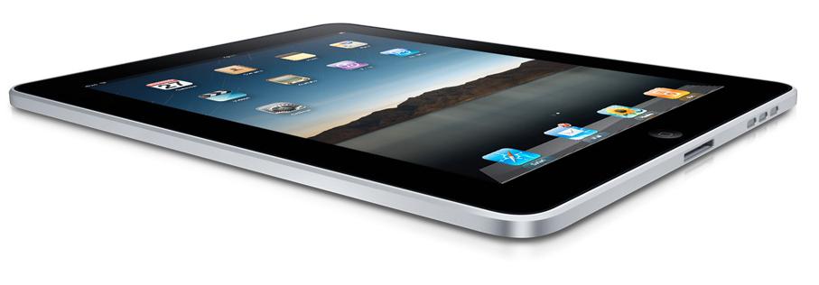 iPad-en fungerte bra når man hadde eksternt tastatur tilkoblet.