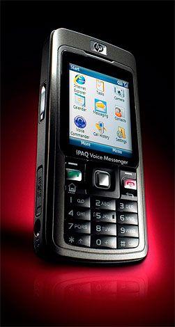 HP iPaq 510 er en av få telefoner på markedet som støtter UMA.