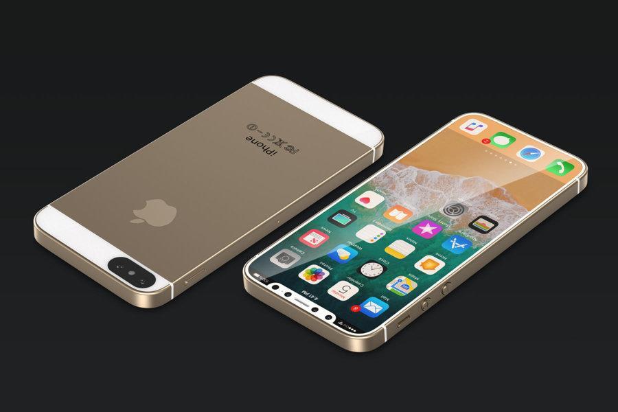 Konsepttegning av en potensiell ny iPhone SE 2.