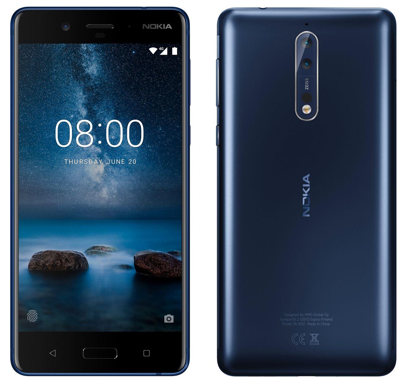 Evan Blass er en dreven produktlekker som stort sett har vært treffsikker gjennom mange år. Dette skal være nye Nokia 8 ifølge ham.