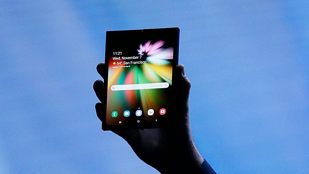 Samsungs brettbare mobil ble såvidt vist frem under selskapets utviklerkonferanse.