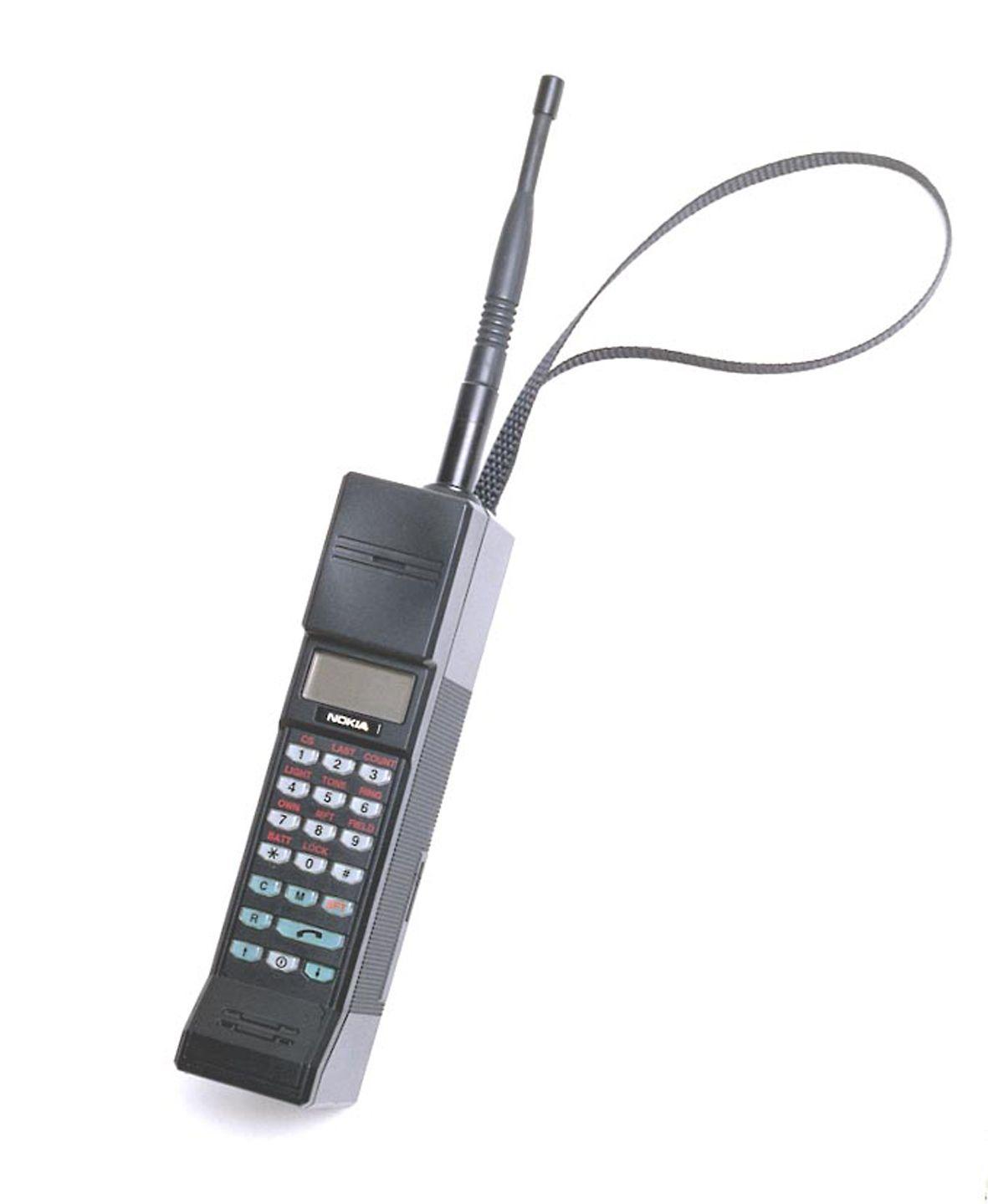 Nokia Mobira Cityman, NMT900-mobil fra 1987.