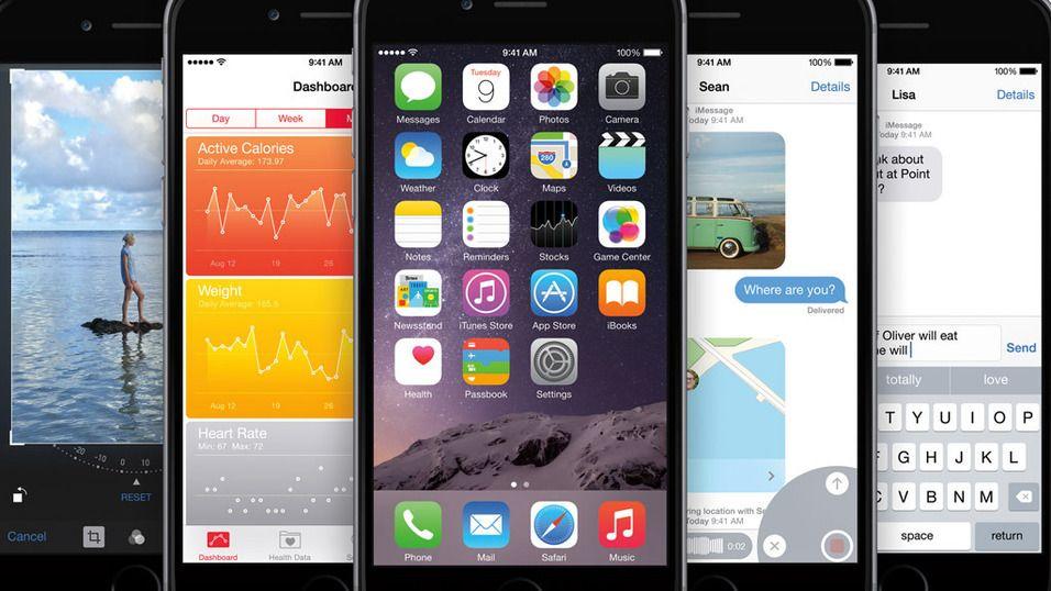 iOS 9 skal by på en nyttig funksjon for dem med lite plass. Foto: Apple