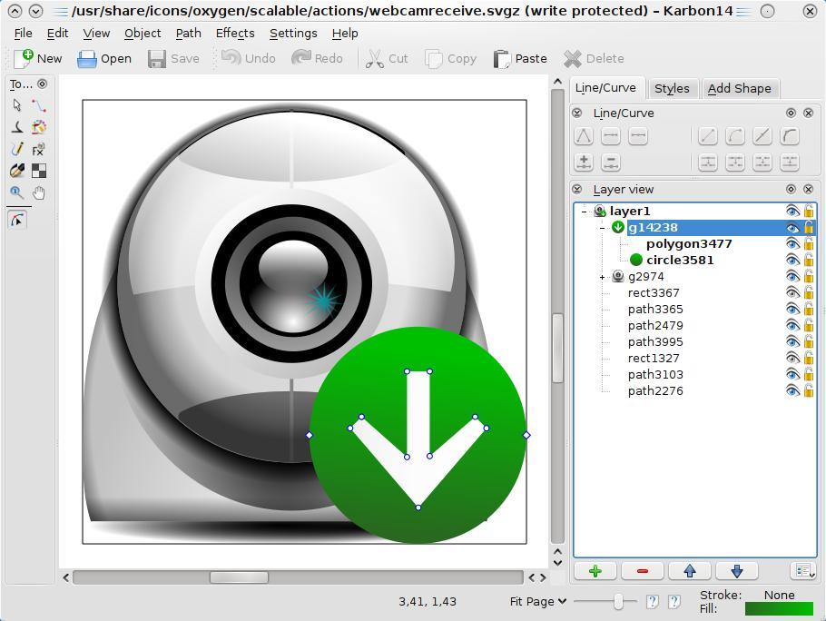 bildet er hentet fra KDE sine sider