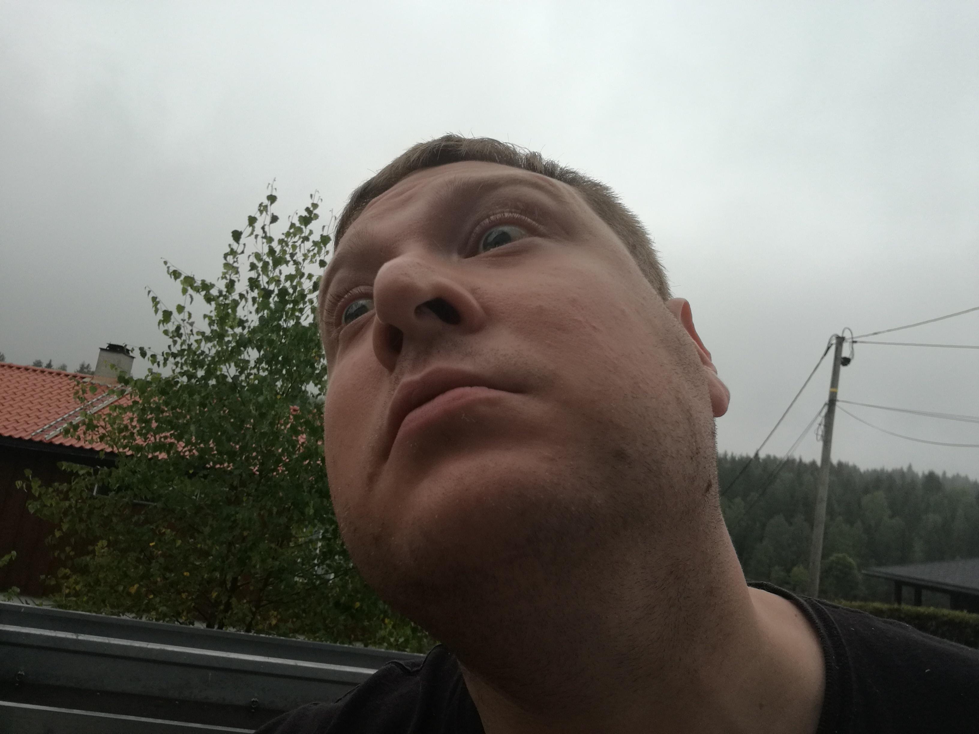 Min estetiske selfiesans er helt upåklagelig.
