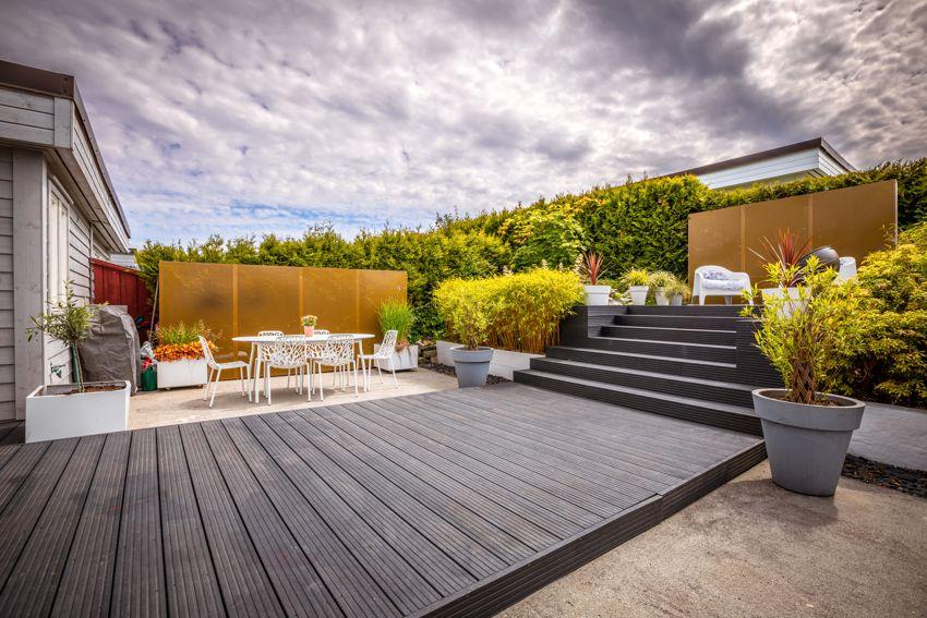 TID FOR HAGE: Hagen som ble pusset opp for «Tid for hage» blir en fin forlengelse av stuen sommerstid.
