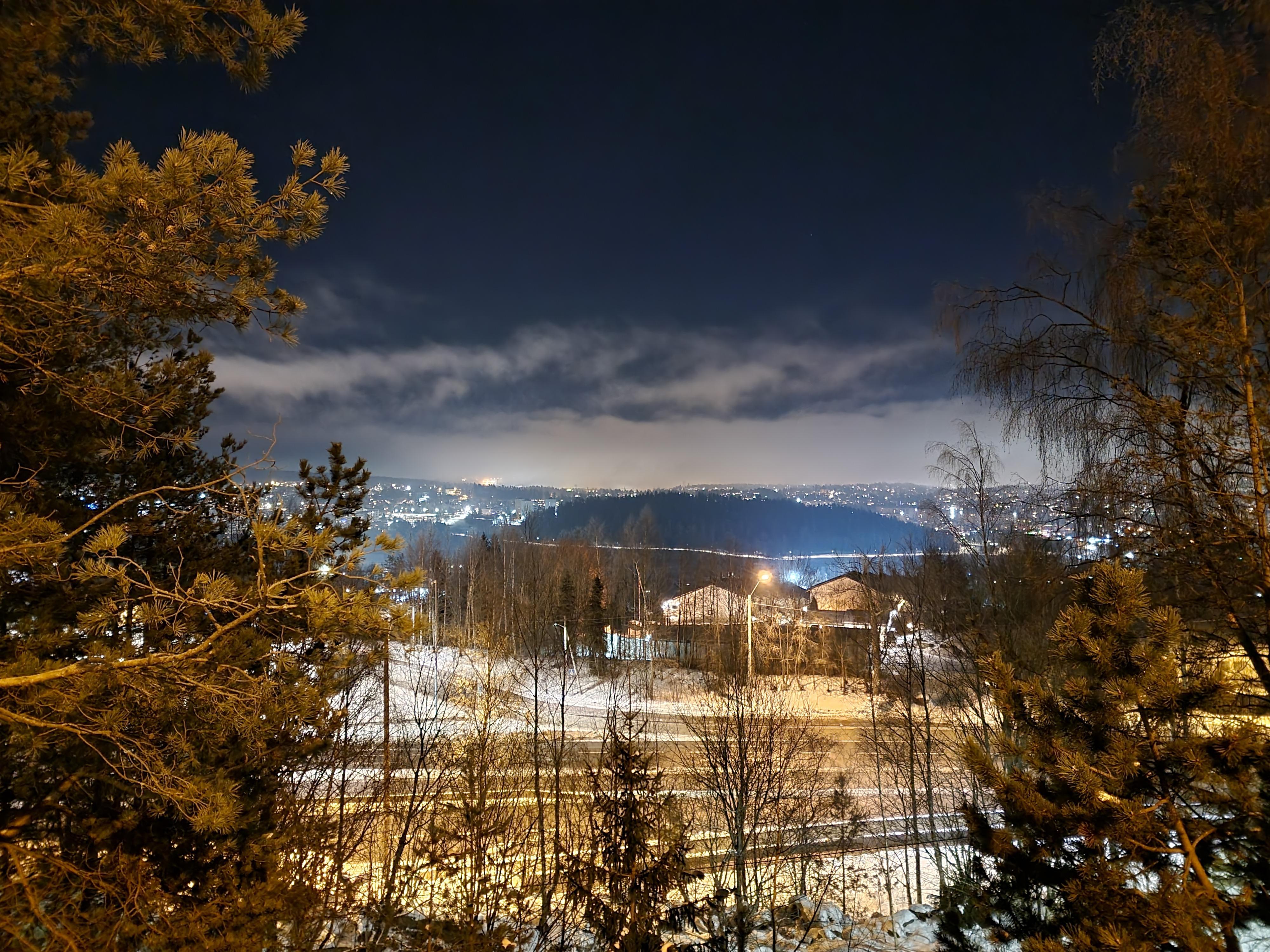 Nattmodus, landskap.