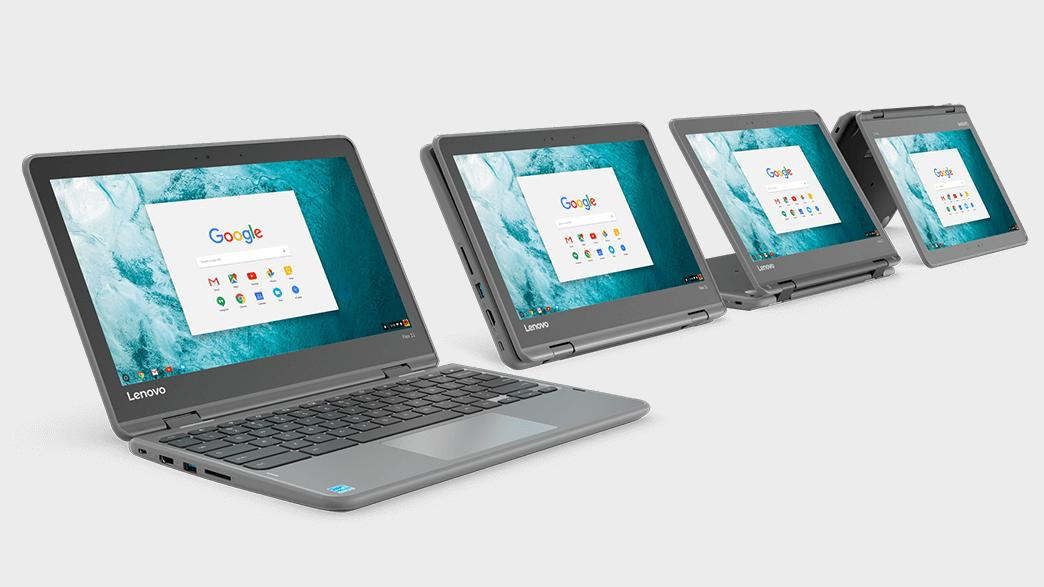 Lenovos nye Chromebook kan du bruke som Android-nettbrett – og den blir billig