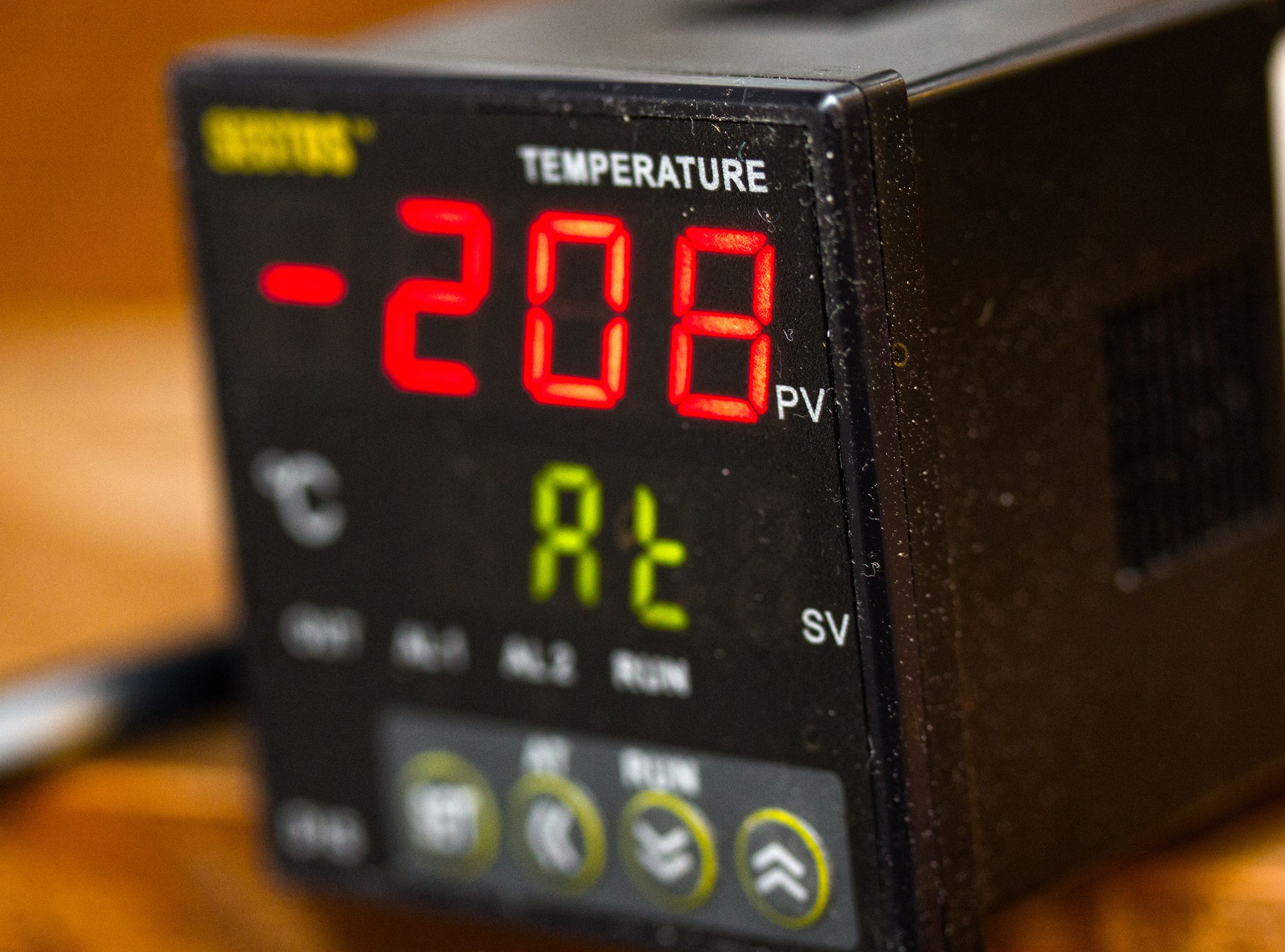 På sikt skal vi leke oss med sånt som dette, en PID-kontroller.Foto: Rolf B. Wegner, Hardware.no