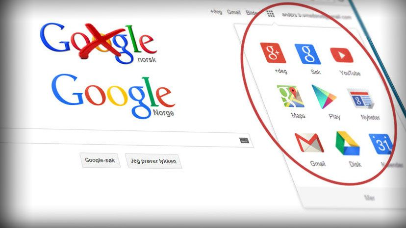 Verdens største søkemotor får ny design