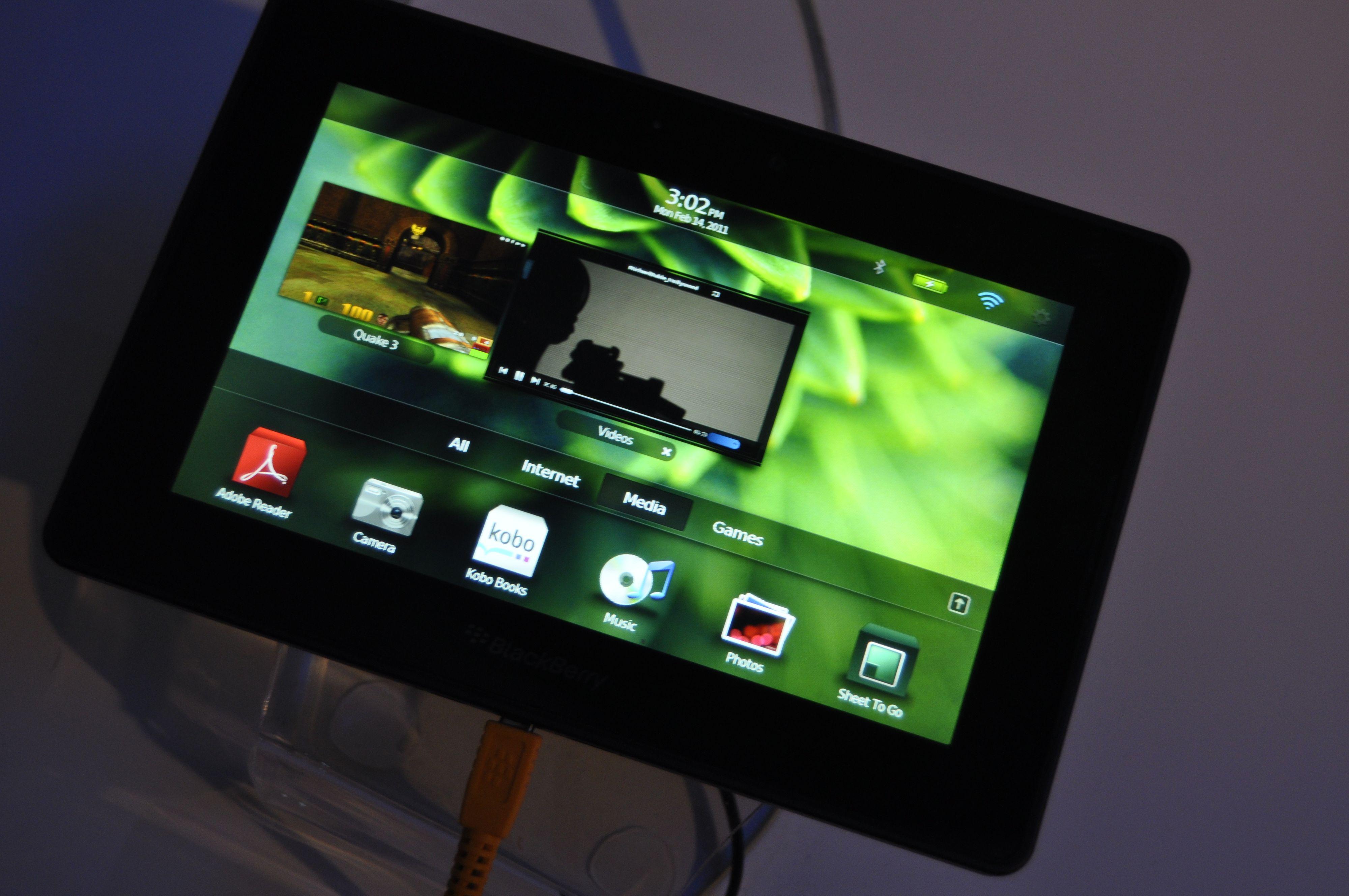 BlackBerry PlayBook hadde en mer imponerende brukeropplevelse enn Android 3.0 Honeycomb.
