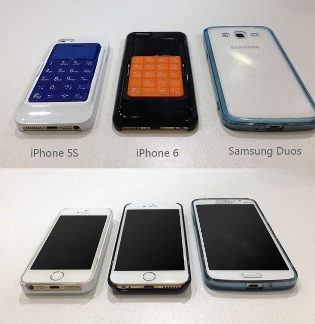 Det finnes deksler til flere andre telefoner også. Her iPhone 5S, iPhone 6 og Samsung Galaxy Duos.Foto: WirelessMe