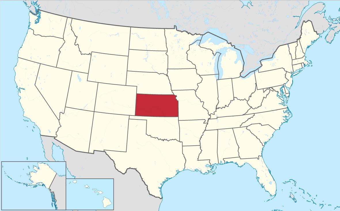 Kansas City i delstaten Kansas er den første byen i USA som får tilgang til Google Fiber.Foto: Wikipedia