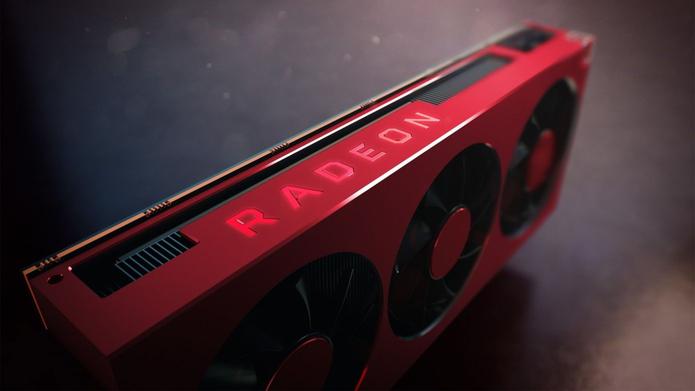 En jubileumsversjon av AMDs nåværende kraftigste grafikkort, Radeon VII.