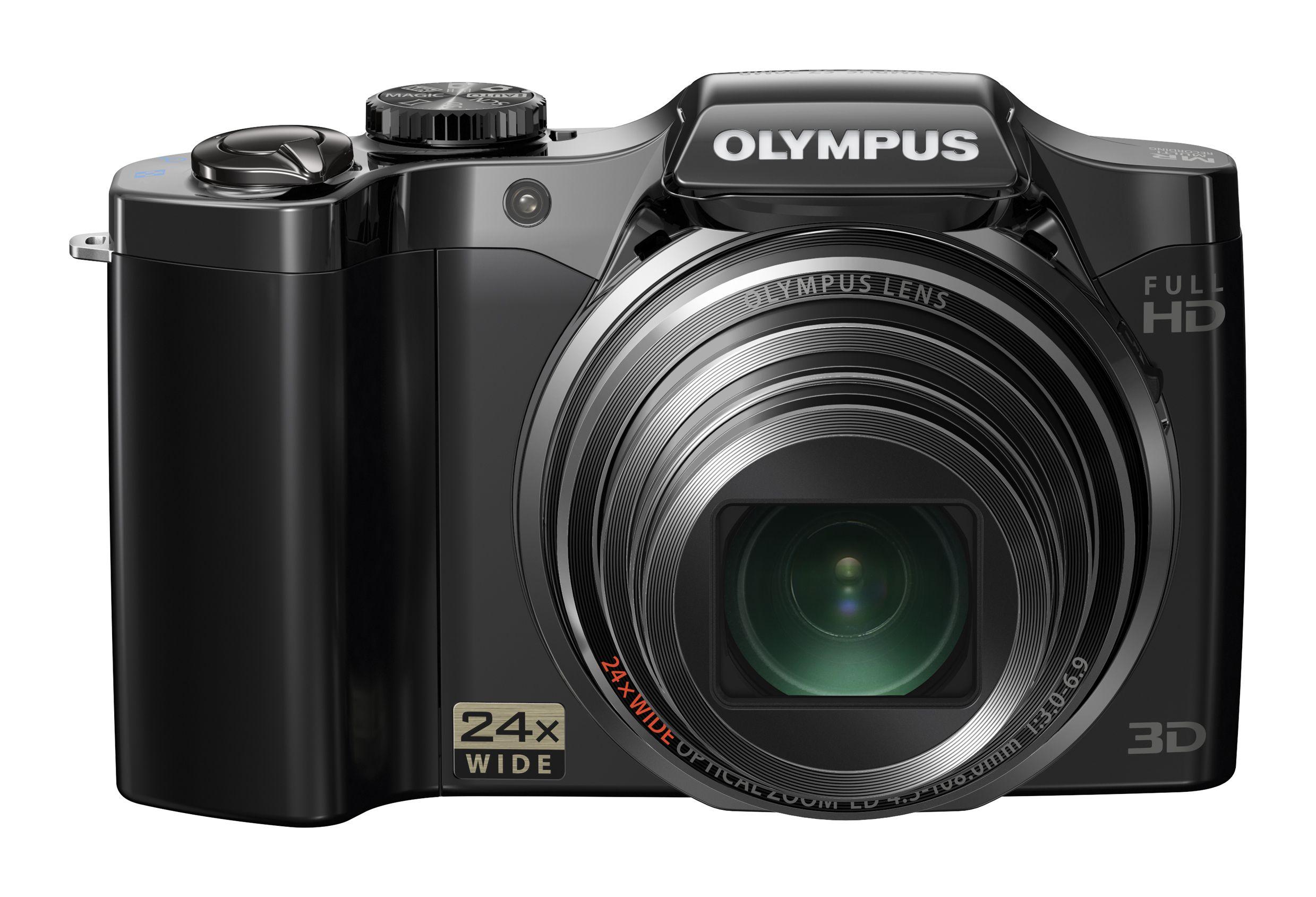 Olympus SZ-30 med 24x zoom.