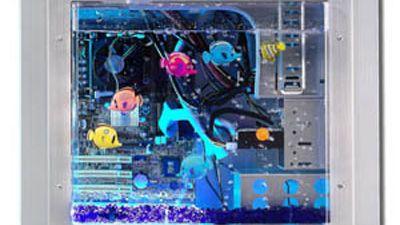 Lian Li Aquarium side panel