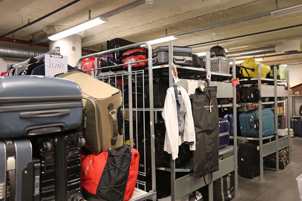 STORE MENGDER: Reisende glemmer mye rart på flyplassen.Foto: Oslo Lufthavn