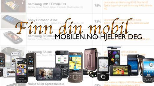Finn riktig mobil til jul