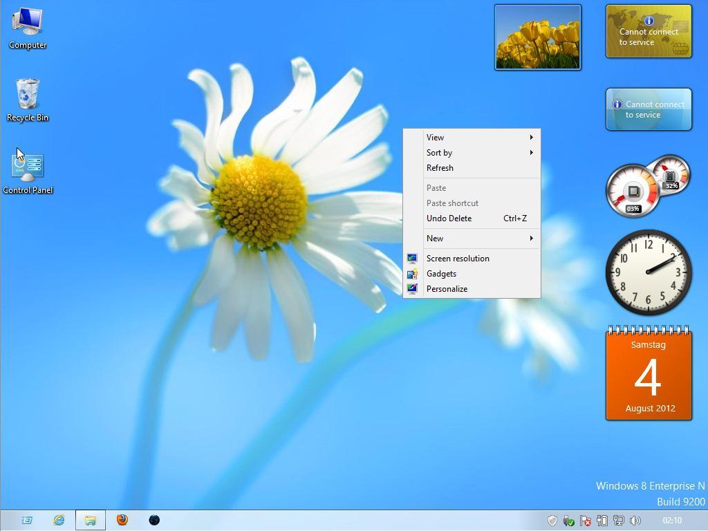 Skrivebordsmodusen er ganske tradisjonell Windows.Foto: Microsoft