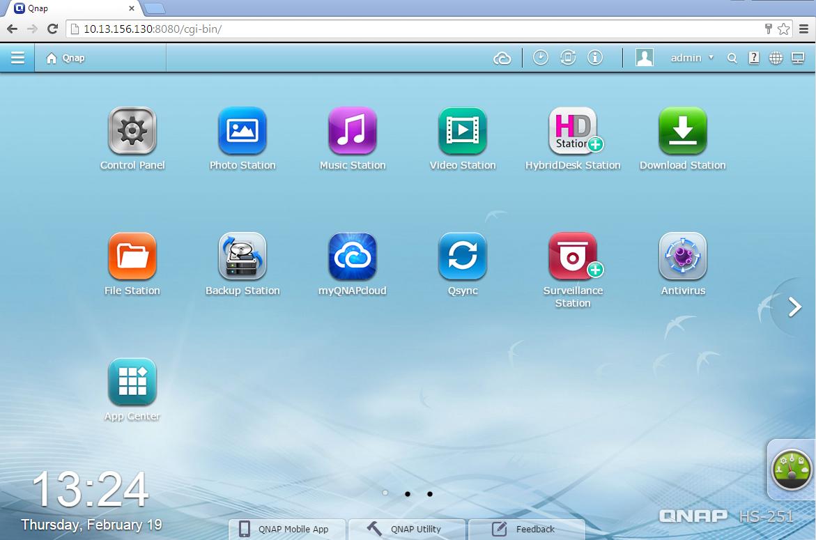 QTS 4.1 har et «app-inspirert» grensesnitt.