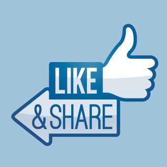 Delinger er enda mer verdifullt enn likes (Foto: Shutterstock).