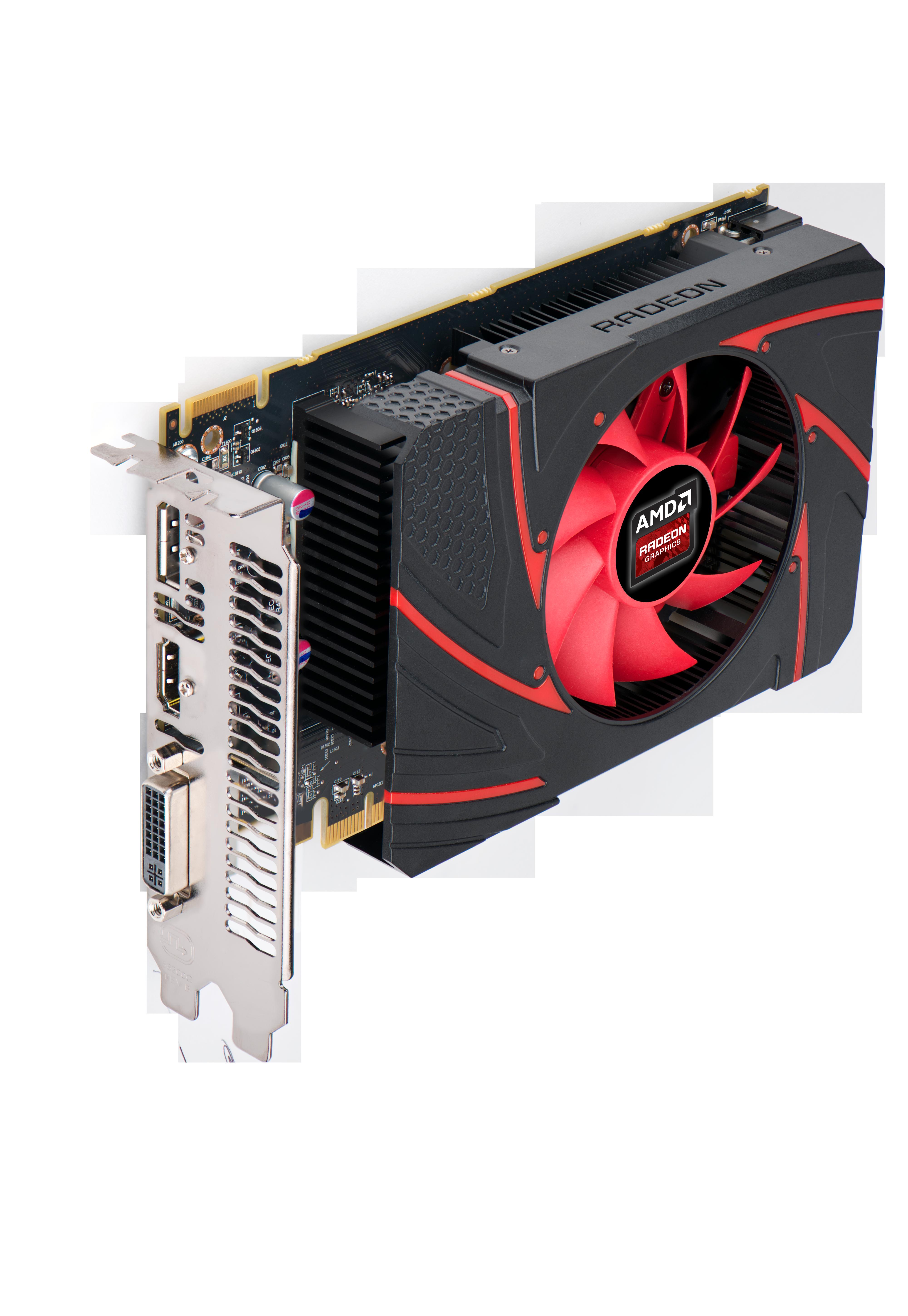 AMD Radeon R7 260X blir et annet skudd til den rimelige stammen, basert på samme prosessor som dagens Radeon HD 7790.Foto: AMD