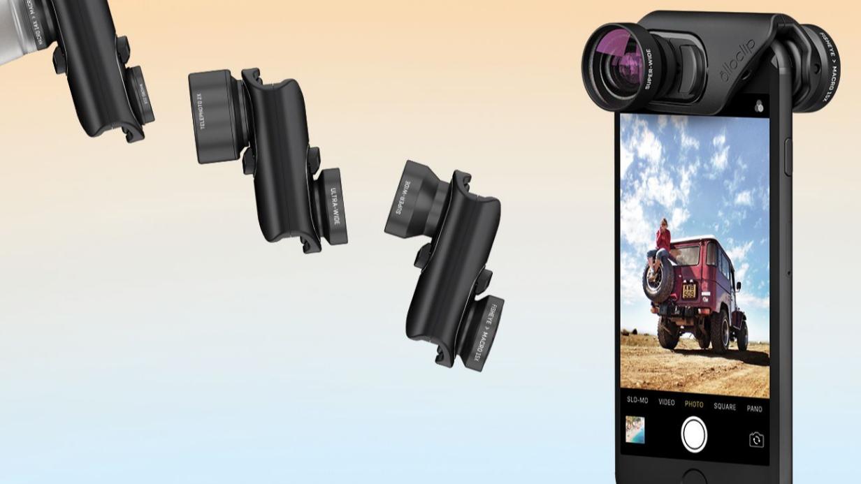 Med disse objektivene kan du gjøre iPhone 7 til et bedre fotoapparat