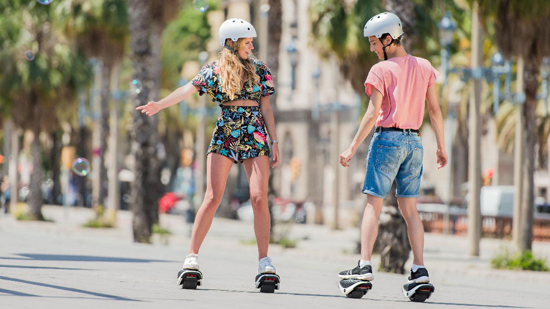 Segway har lansert selvbalanserende «skøyter»
