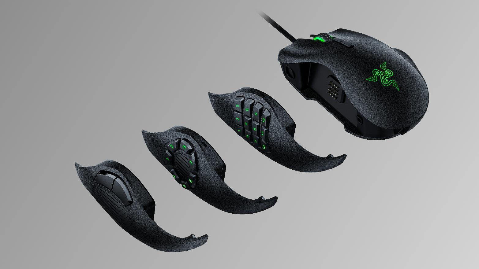 Razers nye spillmus kommer med knapper du kan bytte ut