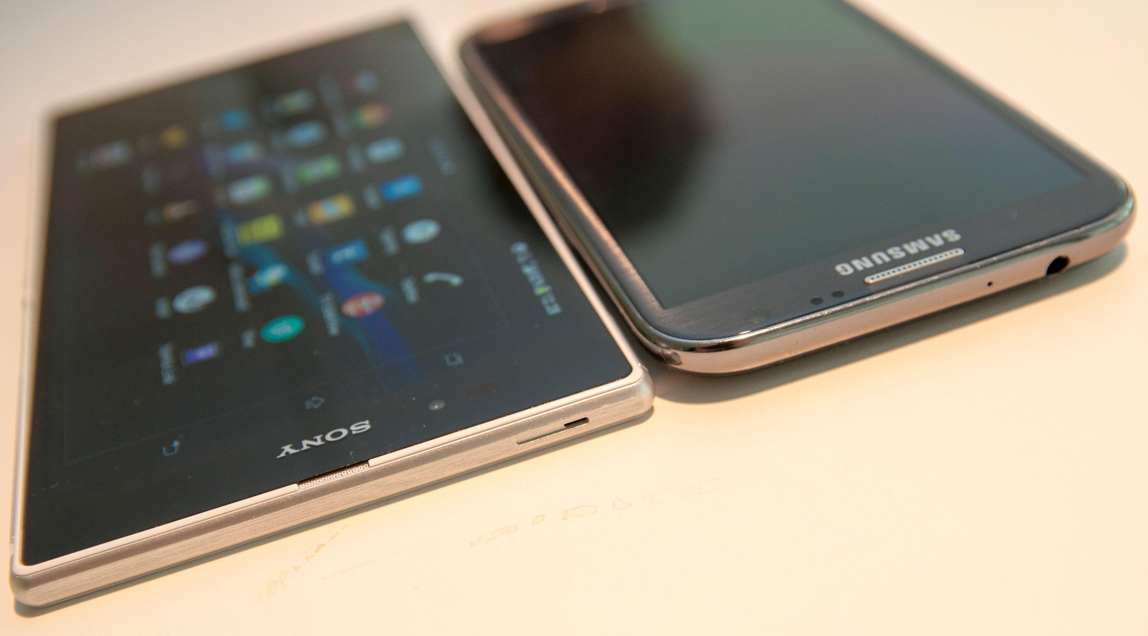 Samsungs Galaxy Note-serie var de første