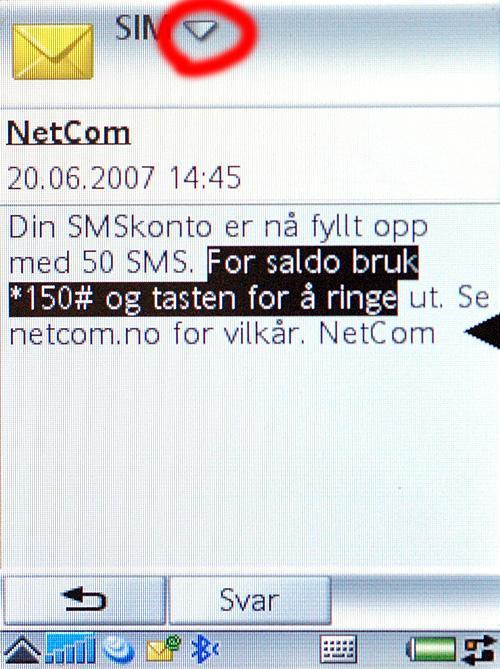 Det er enkelt å kopiere og lime inn tekst med en smarttelefon.