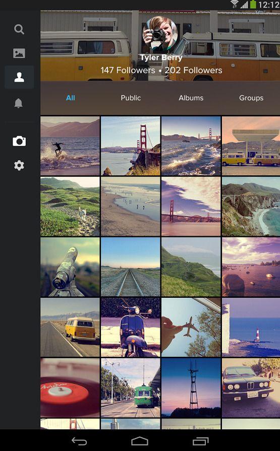 Flickr-appen.Foto: Yahoo!